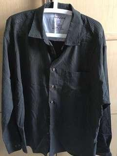 🚚 Men's Long sleeve striped shirt XXL