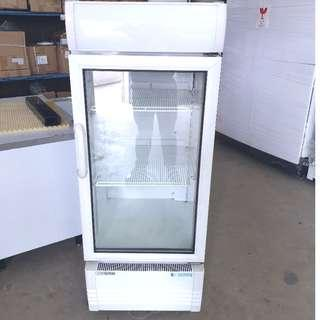 Used Single Glass Door Refrigerator