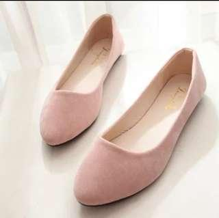 Nude Pink Blush Ballet Flats