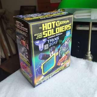 Soundwave Hot Soldiers HS-03T 🆓 post to WM