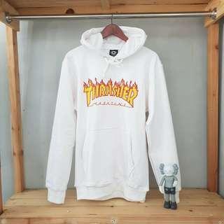 Hoodie sweater thrasher flame premium terlaris
