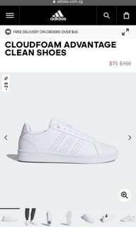 🚚 Cloudfoam advantage clean shoes Adidas