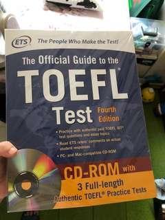 🚚 TOEFL official guide 第四版 全新