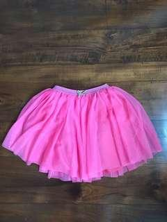 ZARA kids pink tutu skirt sz 7-8