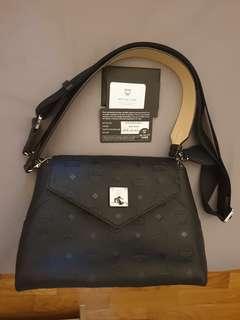 MCM 2 Way Handbag/Sling Bag