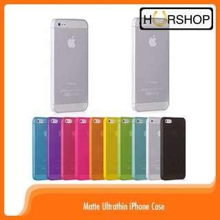 Iphone Case ultrathin 0.3mm casing tipis matte