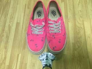"""Vans authentic """"palm"""" pink"""