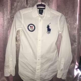 Ralph Lauren Long-sleeves Polo (SIZE 2)