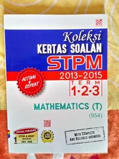 #MMAR18 STPM Mathematics (T) - Koleksi Kertas Soalan STPM