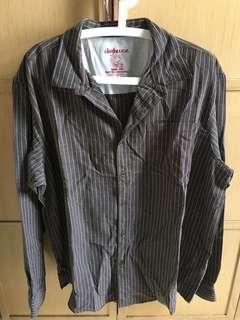 🚚 Men's Long sleeve checked shirt XXL