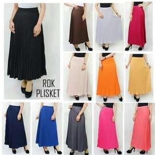 Pleated skirt. Rok Lipit