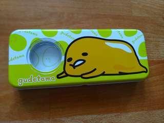 🚚 蛋黃哥雙層鐵製鉛筆盒