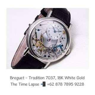Breguet - Tradition 7037, 18K White Gold
