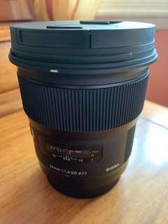 Sigma Wide-Angle Lens 24mm f1.4 Art