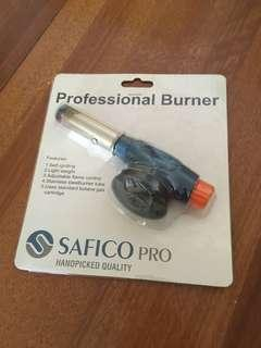 Professional burner torch