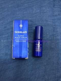 Guerlain Super Aqua Serum. Travel size 5ml.