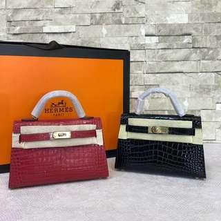 Tas Hermes Kelly II Supermirror Quality