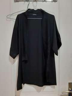 Black Outerwear/ Cardigan / Blazer