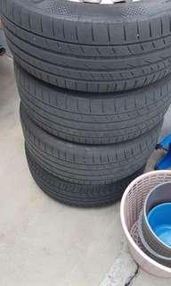 W211 Rims n tires