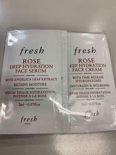 Fresh 玫瑰深層保濕精華 28ml
