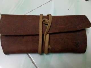 Clutch mini Leather
