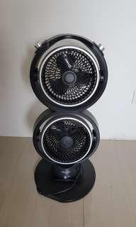 Euroace twin turbine fan