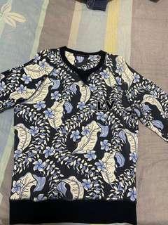 💯Authentic Louis Vuitton Floral Embroidered Sweatshirt