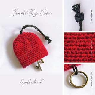 Crochet Key Cover - Rainbow Series