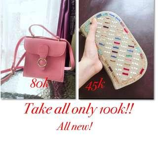 Promo tas dompet wanita