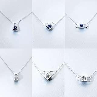 6種戴法鑽石項鍊