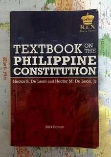 (FREE SHIPPING) REX Philippine Constitution 2014 Edition