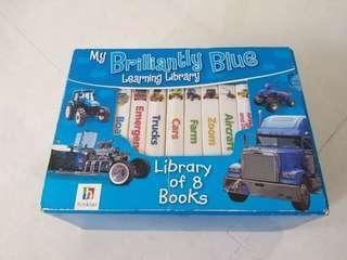 8 vehicle board books