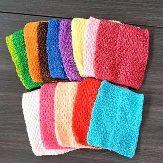 $3 each girl's tube top color as shown self collection only