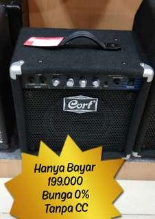 CORT Bass Ampli 15W GE15B Bisa Dicicil