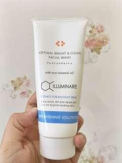 Illuminare optimal bright & clean facial wash