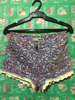 💯Authentic Topshop Floral Shorts