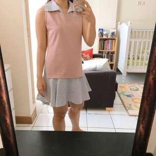 Stripe Pink Dress