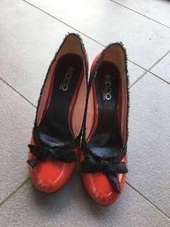 Red patent heels 👠sz39