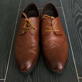 啡色皮鞋 Brown Shoes