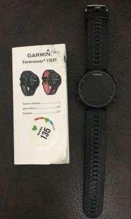 Garmin Forerunner 735 Smartwatch - Black
