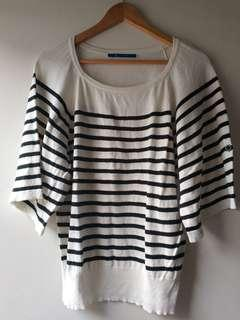 Pre-loved Striped Knitted Top