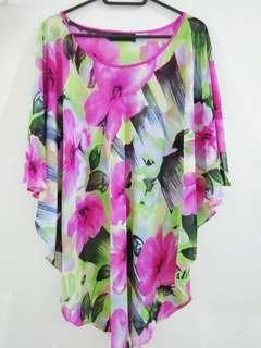 Floral Batwing
