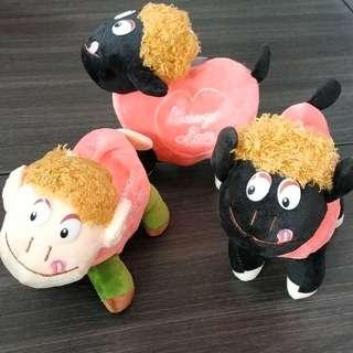 $5 each soft toy Messenger of Love self collection only