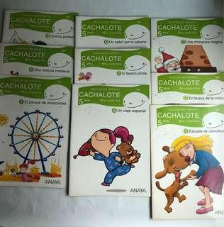 Spanish book To learn to read in Spanish Cachalote