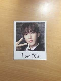 [ wtt ] stray kids changbin i am you taiwan version polaroid pc
