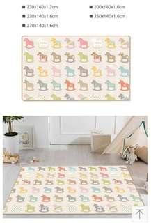 🚚 Parklon Wooden Pony Playmat (Silky Series)