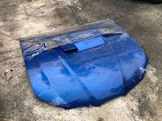 Subaru Wrx bonnet with reverse scoop