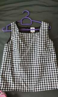 Acrade gingham top