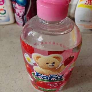 🚚 全新🌸日本熊寶貝草莓味洗碗精270ml