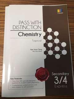 Pass with distinction Olevel Chemistry